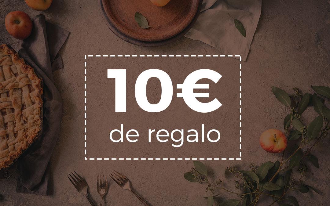 Regala un curso y obtén 10€ para tu próxima compra