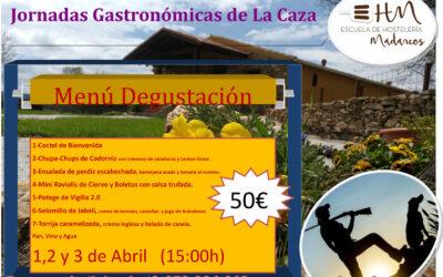 Jornadas Gastronómicas de la caza celebradas en EH Madarcos