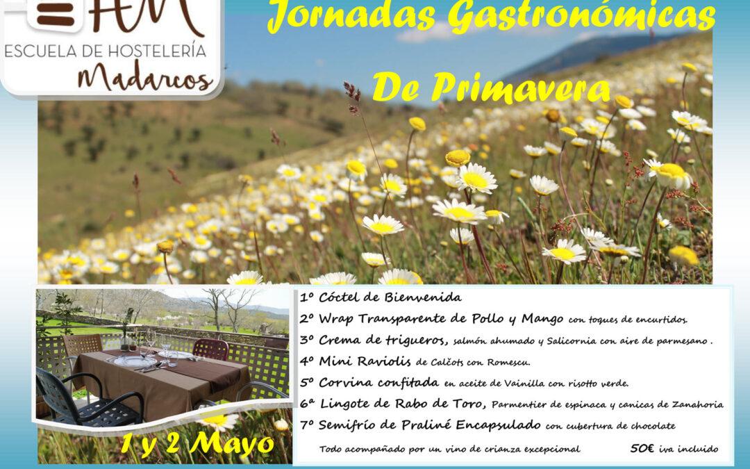 Jornadas Gastronómicas de Primavera 2021